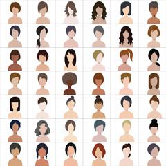 People illustration avatar Vector