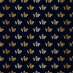 VIP abstract seamless background.
