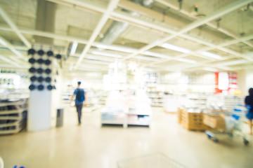 Home mart store blur background