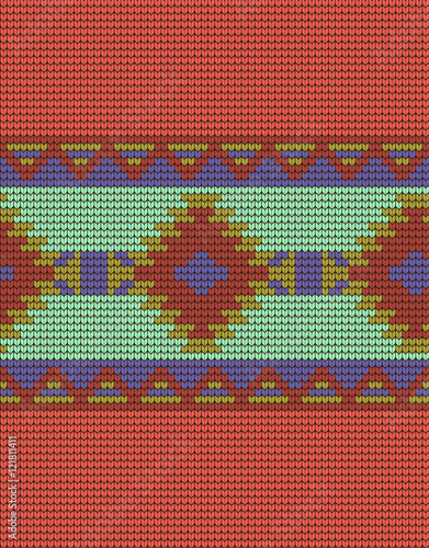 Mexican Indian Knitted Pattern Stock Photo And Royalty Free Images