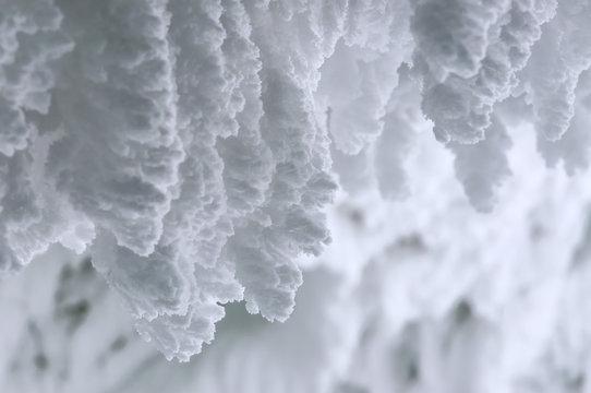 snow, texture, winter