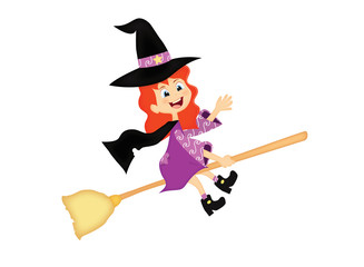 piccola strega di halloween