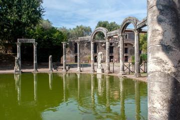Tempio di Villa Adriana, Tivoli, Italia