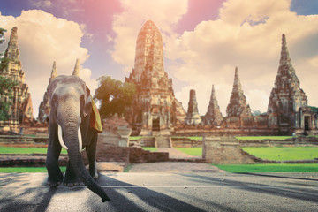 The historic sites tourism in thailand
