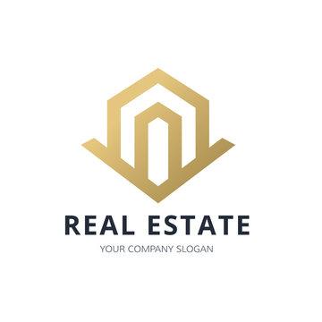 Real Estate Logo, property logo, House logo