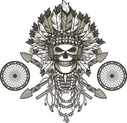 dead chief badge