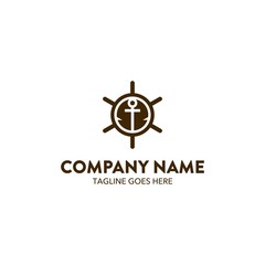 Aviation And Marine Logo Template