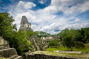 Mayan Temple I (Gran Jaguar) at Tikal National Park - Guatemala