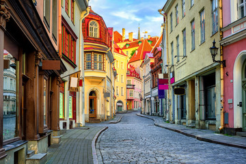 Old town of Tallinn, Estonia Fotomurales