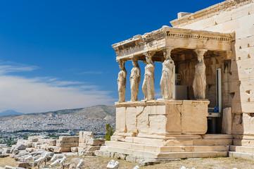 Caryatids at Porch of the Erechtheion, Acropolis Fototapete