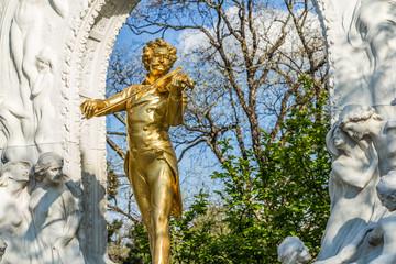 Vienna in the spring sunny day, Austria