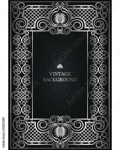 """Old Book Design """"Vector Floral Vi..."""