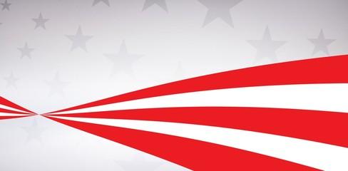 Digital image of American flag