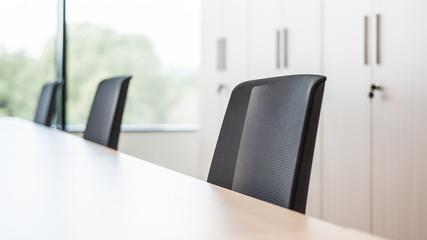 Fototapeta Fotele biurowe miejsce pracy korporacja obraz