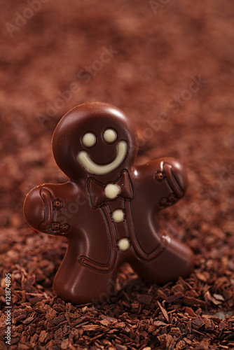 Dark Chocolate Gingerbread Man Stock Photo And Royalty Free Images