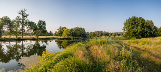 Landscape with River and Meadow