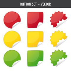 button-set sticker