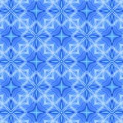 декоративный узор фигурный синий