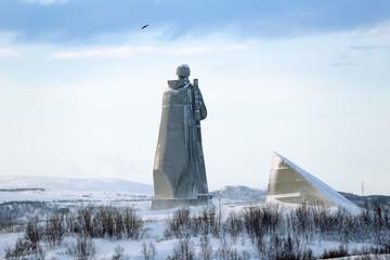 Alyosha Monument, Murmansk, Russia
