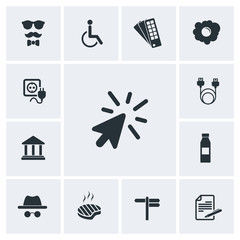 Flat icon pack for website, image jpg, vector eps, flat web, material