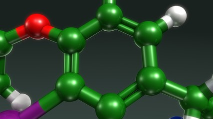 Thyroxine structure