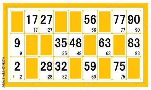 Carton de loto gratuit imprimer for Des cartons pour demenager