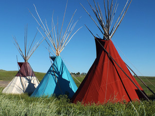 Plains Indian Teepees