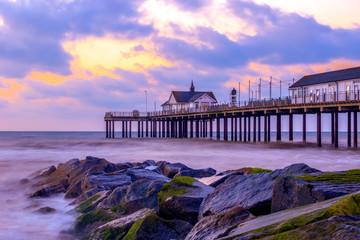Sunrise at Southwold Pier, UK