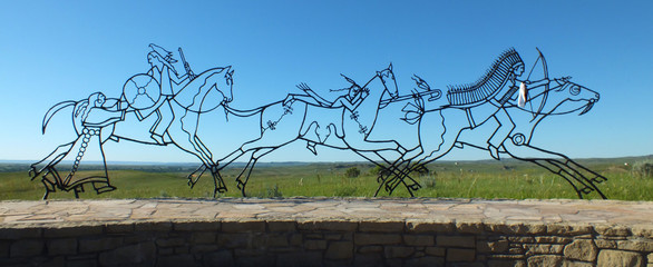 Little Bighorn Battlefield MT (USA)