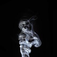 Swirls of smoke