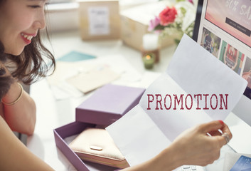 Promotion Campaign Sale Marketing Graphic Concept