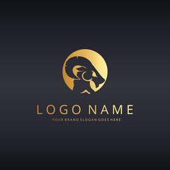 Ram logo template