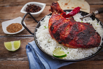 Indian chicken tandoori