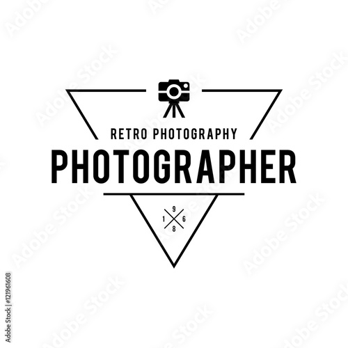 Set of Photography Logo Design Templates Photography Retro Badges