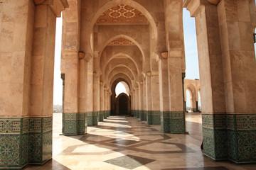 la mosquée hassan 2  casablanca maroc belles arches islamic architecture