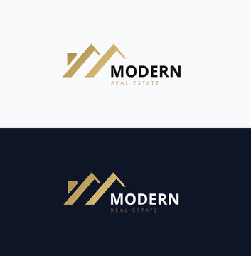 Modern Home Real estate logo