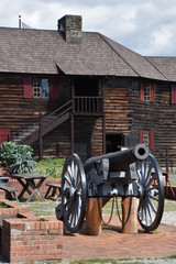 Fort William Henry in Lake George, New York