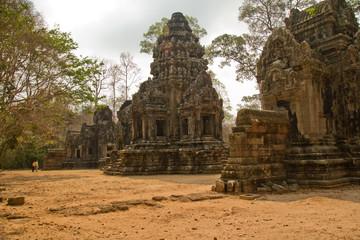 Świątynia w Angkor,Kambodża