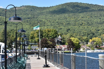 Village of Lake George in New York