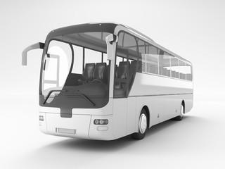 Autobus o pullman da viaggio vuoto