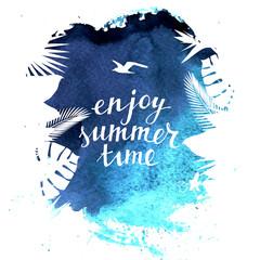 Enjoy summer time background