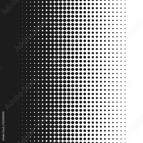 Line Art Vs Halftone : Quot dotted background vector illustration white and black