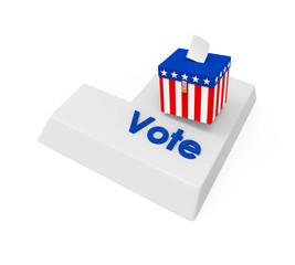 Vote Enter Button