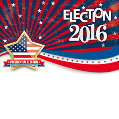 Presidential Election 2016 Golden Star Stripes