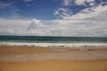 sea beach blue sky sand sun daylight relaxation landscape viewpoint