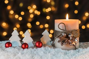 Adventszeit Dekoration Weihnachtlich Hintergrund