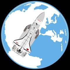 Multi-purpose aerospace system «Buran».