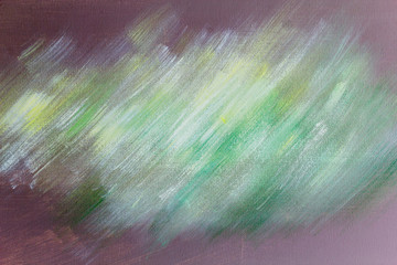 Abstract color art background with oil painting on canvas.