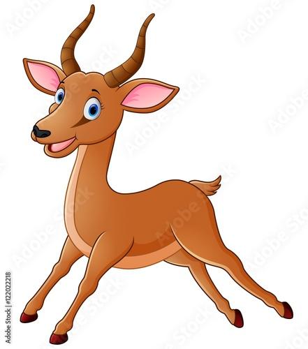 cartoon antelope stock image and royalty free vector files on rh fotolia com cartoon antelope face antelope cartoon pictures