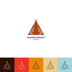 Set of wigwam logo